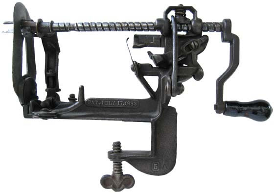 Image of Advance Lathe Apple Peeler with Push-Off