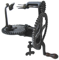 Image of Lockey & Howland Small Wheel Turntable Apple Peeler