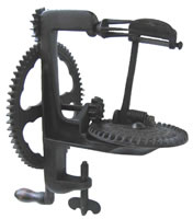 Image of Lockey & Howland Large Wheel Turntable Apple Peeler