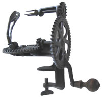 Image of Lockey & Howland Raised Frame Turntable Apple Peeler