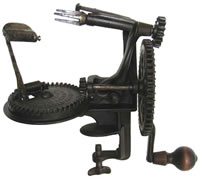 Image of Lockey & Howland Heavy Split-Frame Turntable Apple Peeler