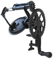 Image of Lockey & Howland Tilted Split-Frame Turntable Apple Peeler